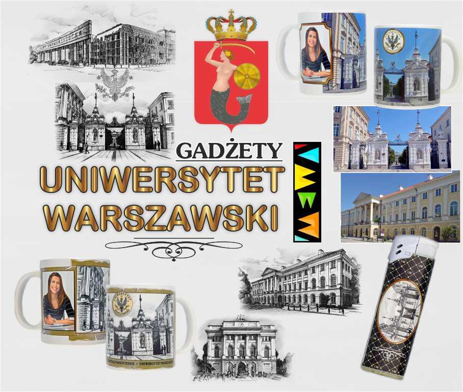Gadżety Uniwersytetu Warszawskiego